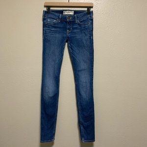 Hollister medium wash skinny denim jeans